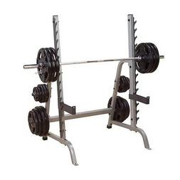 "Body Solid 2"" x 3"" MULTI-PRESS GYM WEIGHT SQUAT RACK GPR370"