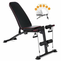 330LBS Adjustable Weight Bench Incline Decline Body Workout