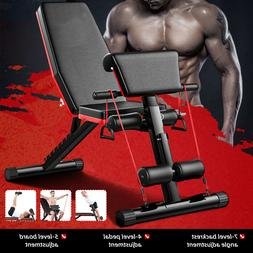 Abdominal Sit-ups Bench Fitness Workout Weight Strength Home