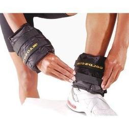 Everlast Adjustable 5 lb Ankle/Wrist Weights, Pair