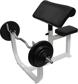 Ader Adjustable Arm Curl Bench Machine Preacher Dumbell Bice
