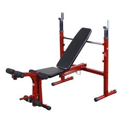 Best Fitness Adjustable Folding Weight Bench - BFOB10R with
