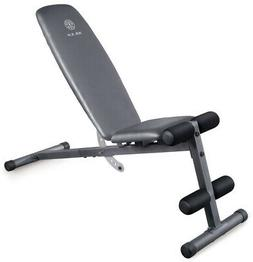 Golds Gym Adjustable Multi Position Weight Bench Home Gym We
