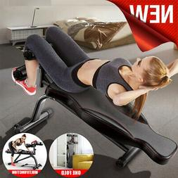 Adjustable Utility Weight Bench Full Body Sit Up Incline&Dec