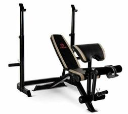 Adjustable Weight Bench with Bench/Squat Rack Strength Worko