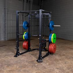 Body-Solid Power Rack/Cage w/Lat Attachment | 1000 Lb Capaci