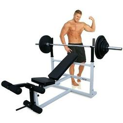 DF1000 Deltech Fitness Olympic Bench NEW