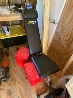 Feierdun adjustable weight bench black - decline/incline