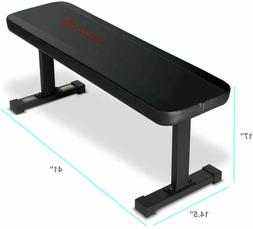 flat utility 600 lbs capacity weight bench