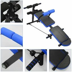Foldable Sit Up Bench AdjustableHome Gym Fitness Exercise Wo