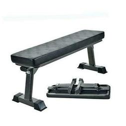 Finer Form Folding Flat Bench and Half Ball Balance Trainer