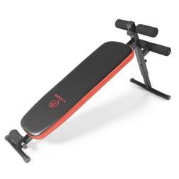 Marcy Folding Utility Bench w/ Headrest – Slant Board | SB-
