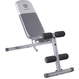 Gold's Gym Xr 5.9 Slant Bench Included to Help You Perform t