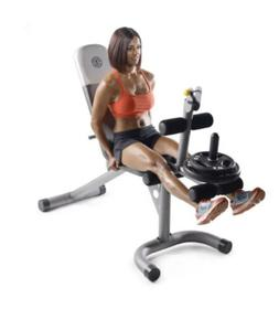 Gold's Gym Xrs20 Olympic Workout Weight Bench Home Lifting