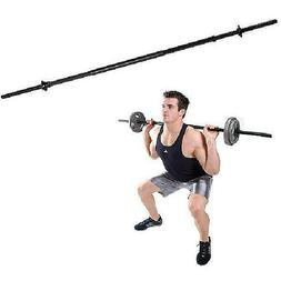 Golds Gym - Solid Steel Standard Weight Lifting Bar, 5 ft
