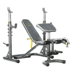 Golds Gym XRS20 Weight Lifting Bench Press Exercise Weights