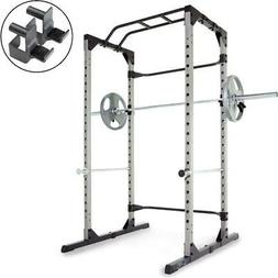 Heavy Duty Power Cage Squat Rack with Pullup Bar 800LB Capac