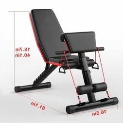 Home Gym Adjustable Weight Bench Foldable Workout Bench Sit