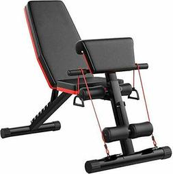 Home Gym Adjustable Weight Workout Bench Abdominal Training
