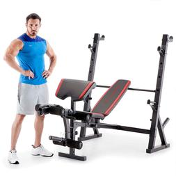 Marcy Home Gym Workout Fitness Exercise Deluxe Olympic Weigh
