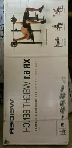 HOME GYM Weider XR 6.1 Weight Bench W Leg Developer Exercise