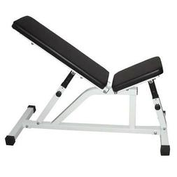 Indoor Adjustable Barbell Fitness Flat Incline Decline Bench