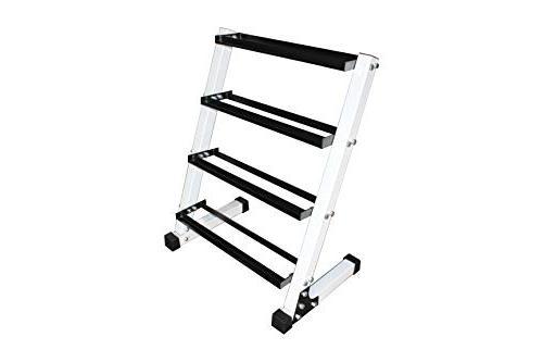 4 tier dumbbell rack each