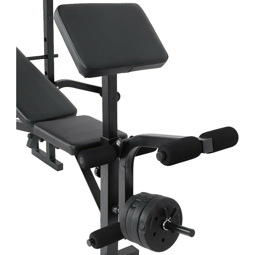 Weight Home Gym Press Barbell Workout USA