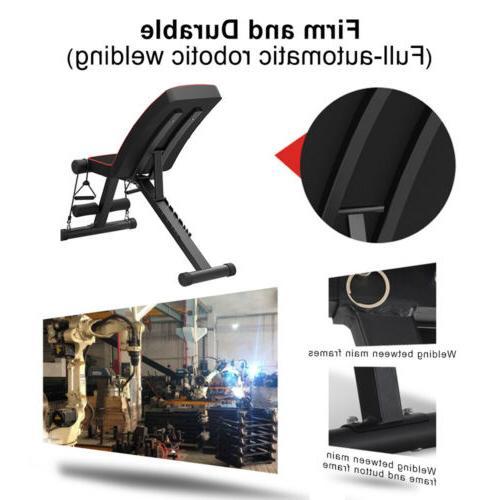 Adjustable Press Incline Decline Fitness Gym