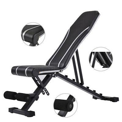 Adjustable Incline Bench Workout Home