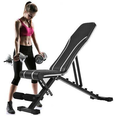 Adjustable Flat Weight Workout