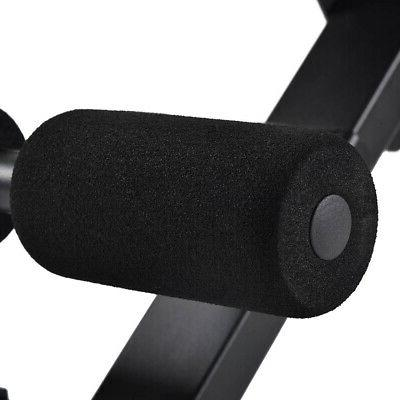 Adjustable Flat Weight Bench Gym Utility Workout Home