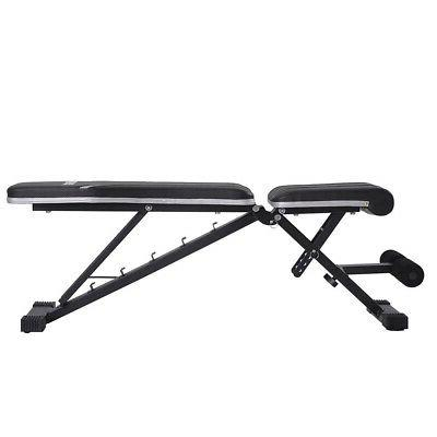 Adjustable Flat Bench Gym Workout