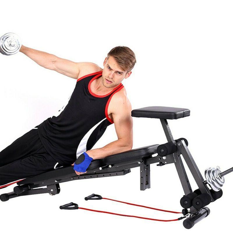 Adjustable Flat Workout Gym