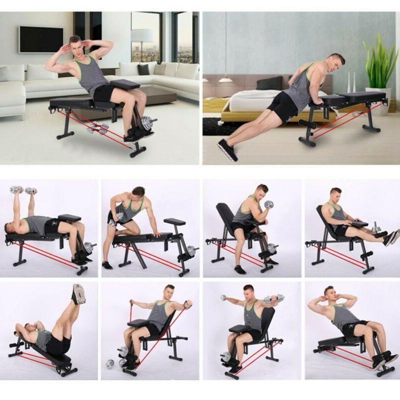 Flat Incline Workout Sports Gym