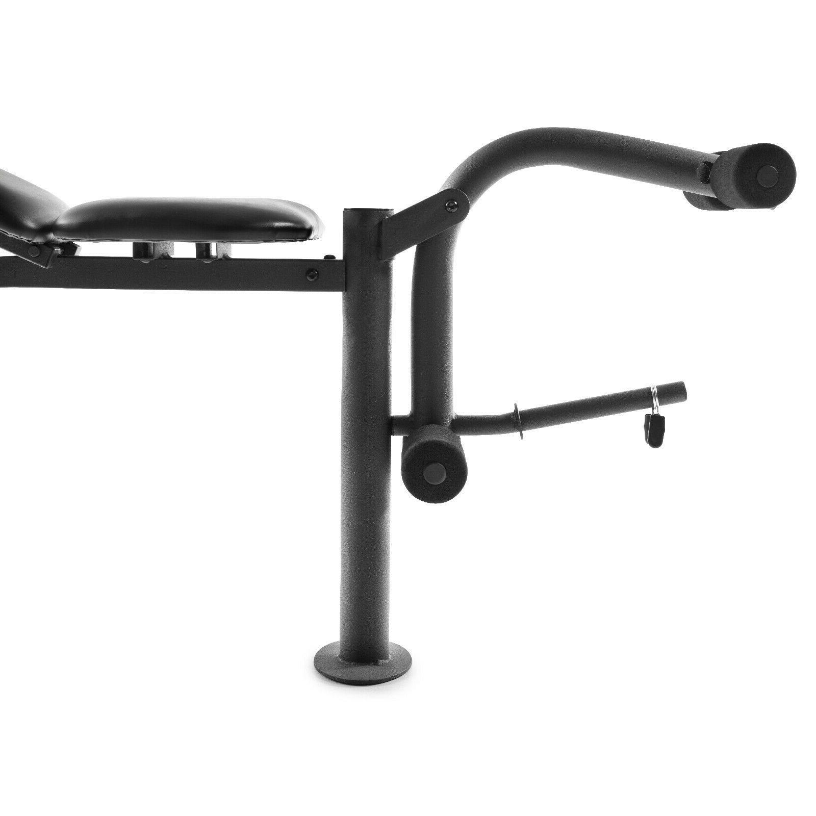 ADJUSTABLE SET With Weights And Bar Flat