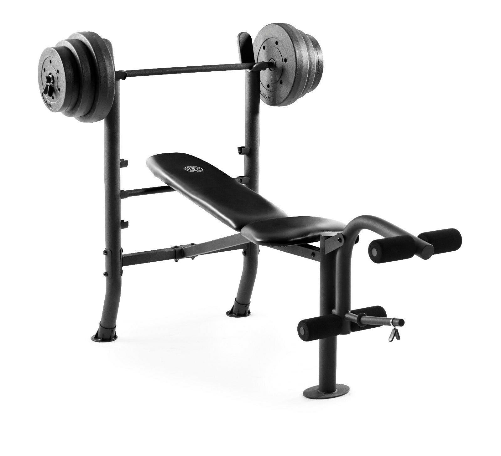 ADJUSTABLE LIFTING WEIGHT SET Weights And Flat