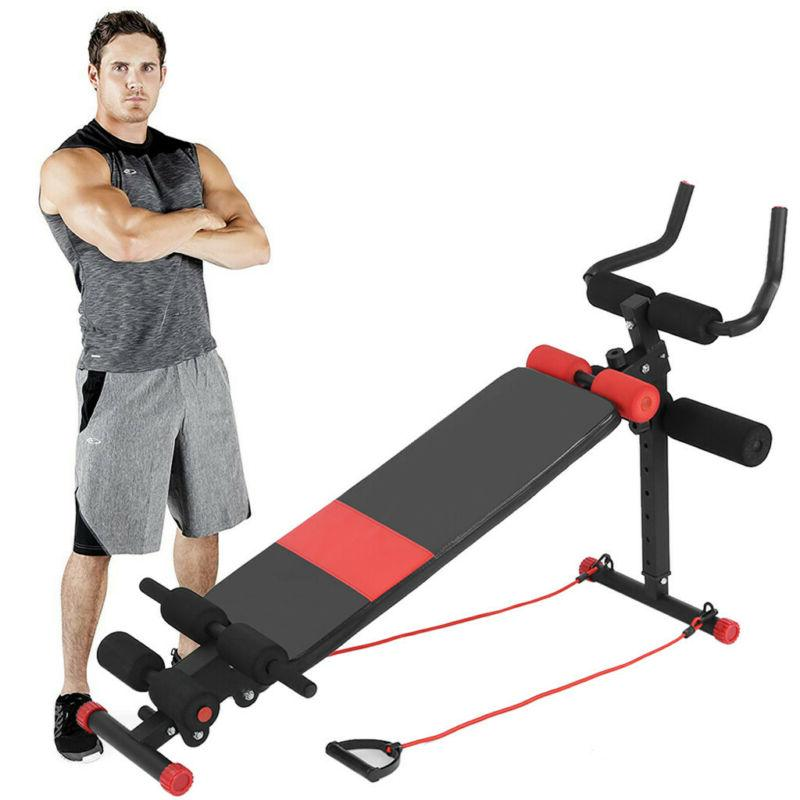Sit Up Bench Decline Ab Exercise MER