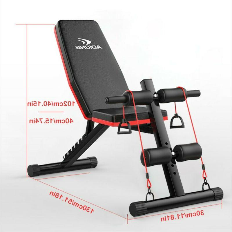 Adjustable Decline Body Workout Training