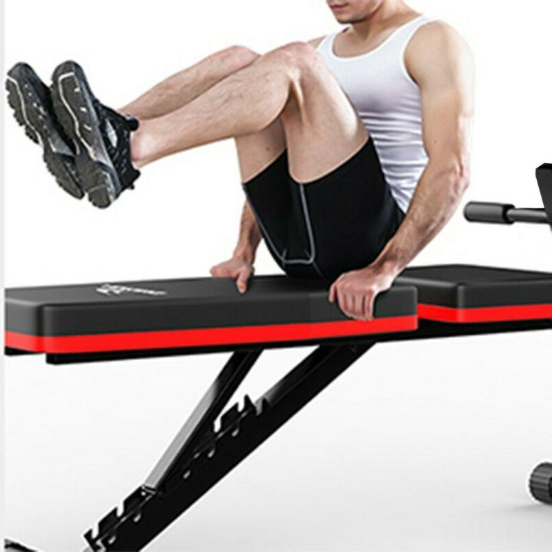 Adjustable Bench Incline Decline Foldable Body Workout