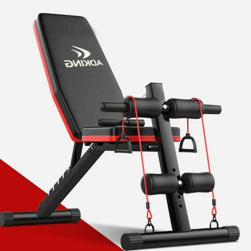Adjustable Decline Foldable Workout