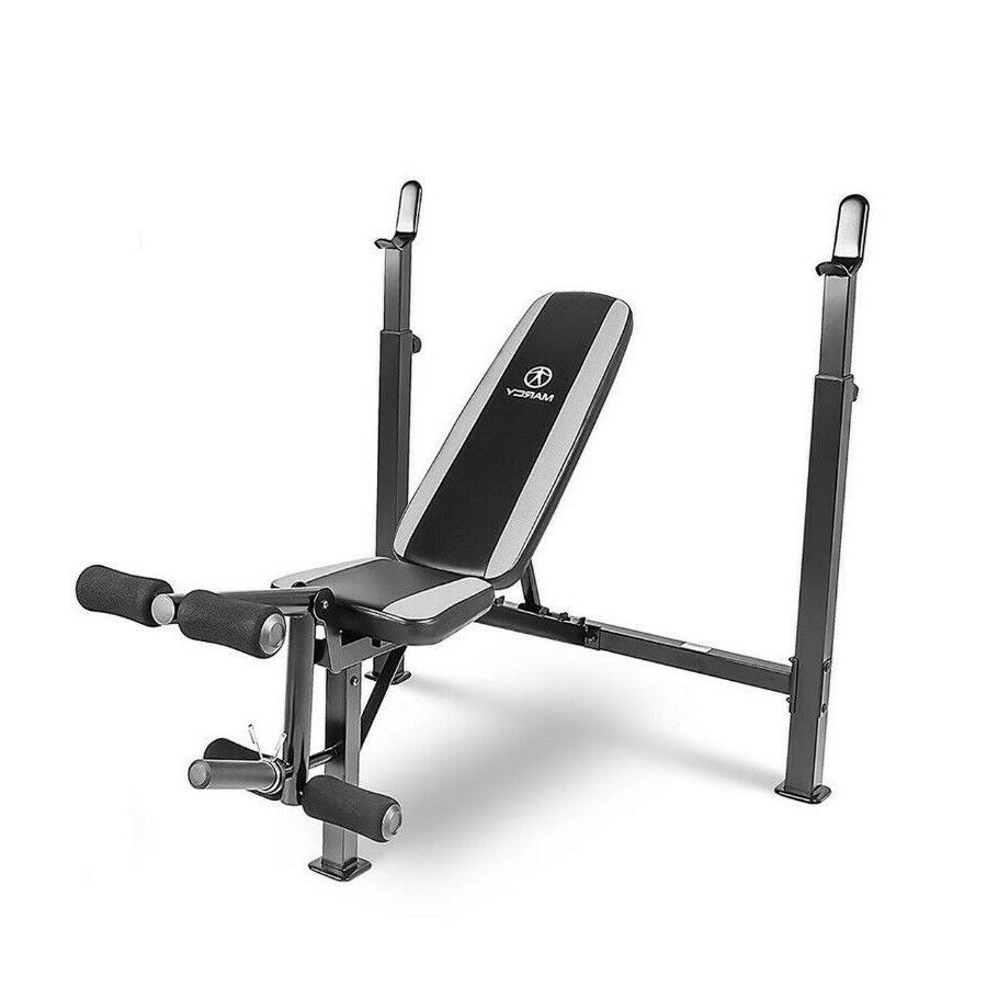 brand new multipurpose olympic bench mwb 4491