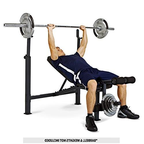 Marcy Adjustable Weight Bench Developer Weight and Strength