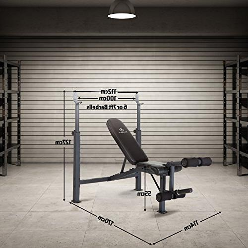 Marcy Olympic Weight Bench Developer for Weight and