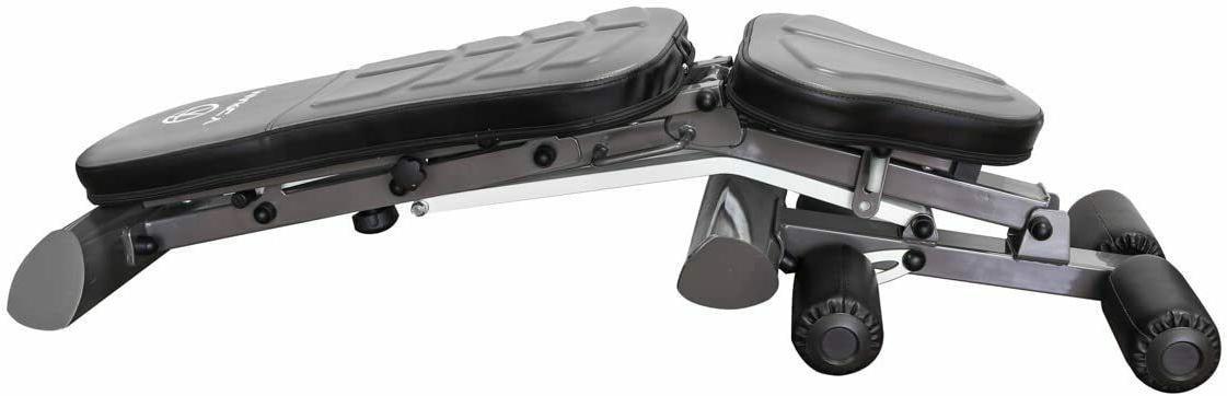 Marcy Foldable Bench Gym Equipment Ergonomic