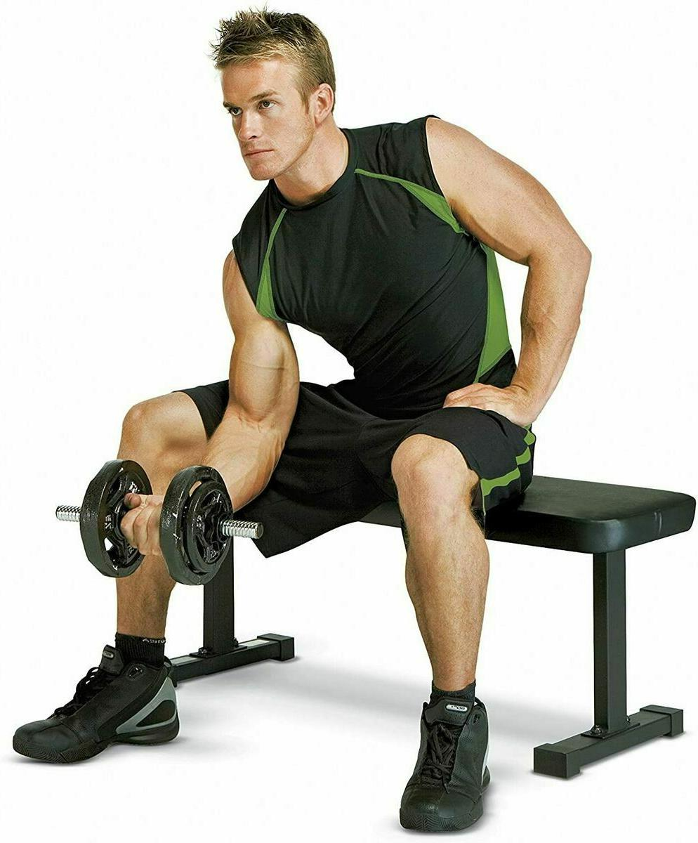 Flat Capacity Weight for Weight Training Exercises