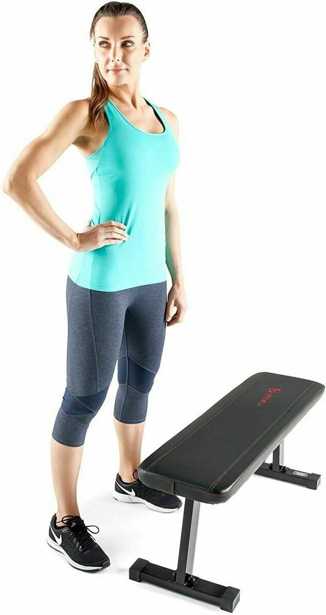 Flat 600 Capacity Weight Bench Weight Exercises
