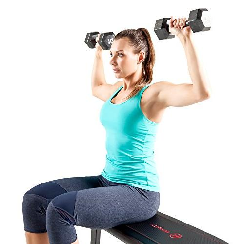 Marcy Utility Bench Weight and Abs Exercises