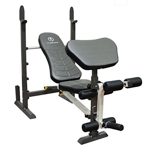 Marcy Folding Standard Weight Bench – Easy Storage MWB-201