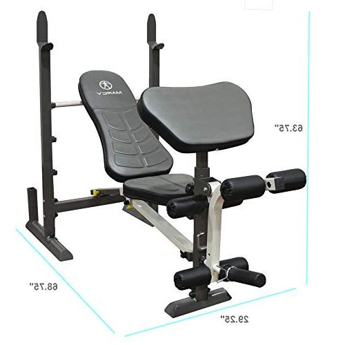Marcy Folding Weight Bench – MWB-20100